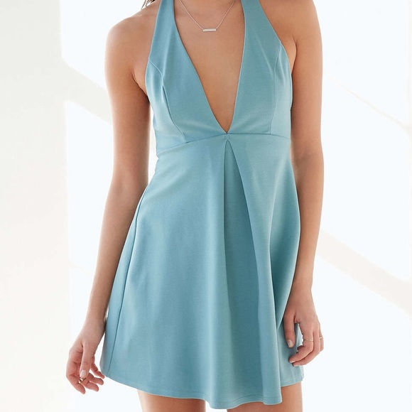 a968966be Urban Outfitters Dresses | Nwt Silence Noise Halter Dress Size Large ...